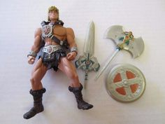 "He-Man Action Figure 6 1/4"" Masters of the Universe MOTU #Mattel"