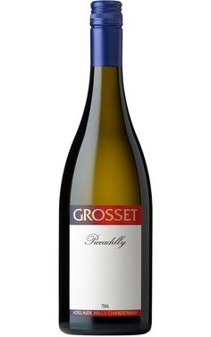 Grosset Piccadilly Chardonnay 2016 Adelaide Hills #GrossetWines #Whitewine #OrganicChardonnay #wine #Australia Wine Australia, White Wines, Organic Wine, Sustainable Farming, Notes, Drinks, Bottle, Drinking, Report Cards