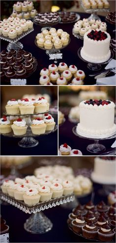 Pretty dessert table #weddingdessert #weddingcake #weddingcupcakes #dessert #desserttable