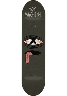 Toy-Machine Crossed-Out - titus-shop.com #Deck #Skateboard #titus…