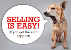 New Blog Post: Selling is Easy! (If You Get the Right Support) via @nathanofsm #sales