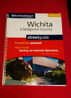 Atlas Wichita / Sedgwick County Ks by Rand McNally and Company Staff and Street Guide...
