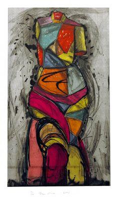 ღღ Jim Dine - The Venus Dances - Drypoint. 2005.