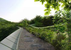 Les premiers gagnants du concours de conception de pont écologique de Yangjaegogae en Corée, les architectes KILD créent une proposition basée sur un concept simple et pur: recréer le lien qui exis…