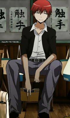 Assassination Classroom- Akabane Karma The aloof genius psycho hottie.