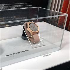Galaxy Wristwatch Acrylic Museum Case