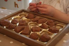 Chocolate playdough The Imagination Tree: Sensory Play