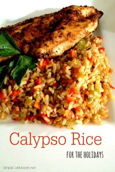 Caribbean Calypso Rice recipe!