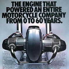 One of the best motorcycle engines ever built. Of all my bikes, the boxer engine was my absolute favourite.