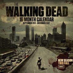 TWD 16 Month Calendar 2011-2012