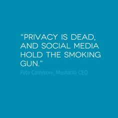 """"""" #Privacy is dead, and social media hold the smoking gun.""""...#KeepItToYourself #Privacy #Myendlessid #kickstater #share what you #want<3<3<3 #technology #bracelet #mobile #NFC"""