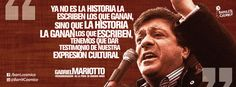 Gabriel Mariotto, vicegobernador de la Provincia de #BuenosAires. #Historia #Cultura //  #Frases #Citas