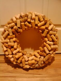 Live to Love to Craft: How To Make A Wine Cork Wreath