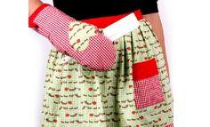 Avental e Luva de Cozinha – Tecido para Patchwork