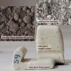 Ash is 33% of a Nuka glaze,. And as you can see in the above image. Preparation plays a big part. Recipe for Nuka glaze, cone 10 Oxi...