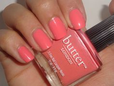 Nailpolis Museum of Nail Art | Butter London Trout Pout Swatch by Jessica