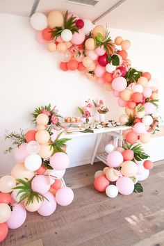 Wedding balloon installation - Photographer: Kayla Plouffe