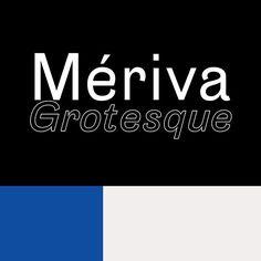Mériva Grotesque Typeface   Slanted - Typo Weblog und Magazin / from new-letters.de