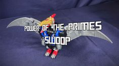 S.L.B. Reviews Power of the Primes Swoop https://youtu.be/Ew3AHbnKpc8 #transformers #actionfigure #review #collecting #youtube #humor #video