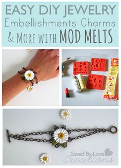 Mod Podge #ModMelts Bracelet Tutorial @Alissa Huybers Crafts from @savedbyloves