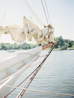 Classic is just the tip of the iceberg with this beauty sent to us by Erich McVey . It's really so much more than the perfect white tent, the nautical touches crafted by Strawberry Milk Events , and t. Cruise Italy, Sail Away, Set Sail, Nautical Wedding, Diy Wedding, Wedding Favors, The Places Youll Go, Sailing Ships, Sailing Cruises