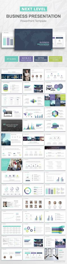 23 best business presentation templates images on pinterest business presentation powerpoint template accmission Images