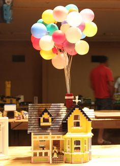OMG... Ry and I need to build this!  LEGO Up House | Flickr - Photo Sharing!