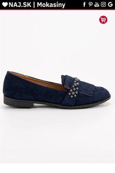 Tmavo modré mokasíny s cvokmi Laura Mode Tommy Hilfiger, Gucci, Loafers, Shoes, Fashion, Travel Shoes, Moda, Zapatos, Moccasins