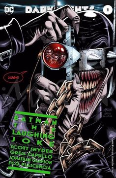 The Batman Who Laughs by Thomas Mason Im Batman, Batman Art, Superman, Batman Poster, Joker Dc, Joker And Harley, Joker Comic, Dc Comics Art, Fun Comics
