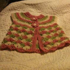 Chaleco bebe crochet
