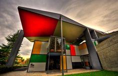 Mid-Century Modern Freak   The Centre Le Corbusier or Heidi Weber Museum is...