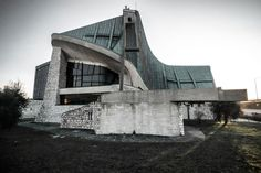 Giovanni Michelucci chiesa di San Giovanni Battista - chiesa dell'autostrada del Sole
