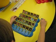 Use students' pictures for a getting-to-know-you memory game. One could also create a memory game with cards requiring that students match the name on one card to the face on another.