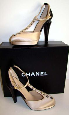 Chanel/ could never wear them out of the house but they are cool.