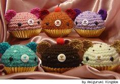Amigurumi Cupcake pattern!!! 3 - Nimoe's Blog | Amigurumi