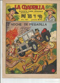 MI TIO Y YO SERIE LA CUADRILLA EDITORIAL MAGA Lote de 41 Nº