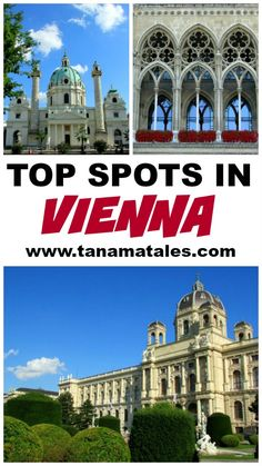 Guide to see the best or top sights in Old Town Vienna.  The best thing is that all the best spots are within walking distance (or a short tram ride away).