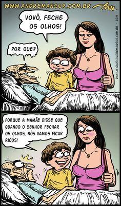 Satirinhas - Quadrinhos, tirinhas, curiosidades e muito mais! - Part 67
