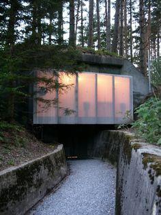 Angebauter Tarnrucksack, atelier-f architekten