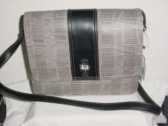 LIZ CLAIBORNE HANDBAGS Brand New Multi colored Plaid fabric FREE SHIPPING!!!