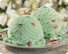 Schwans peppermint stick ice cream- the BEST you'll ever have :)
