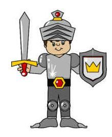 Knight or prince paper craft: good for fairy tales like Sleeping Beauty and Rapunzel Bible School Crafts, Bible Crafts, Paper Crafts, Wood Crafts, Armor Of God Lesson, Printable Paper, Free Printable, Dragons, Sunday School Kids
