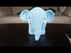 Crochet Impossible - Amigurumi Elephant (Part 2) - YouTube
