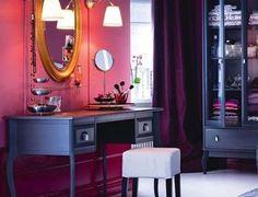 fioletowe wnętrza