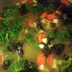 Kale Potato Soup recipe - allthecooks.com