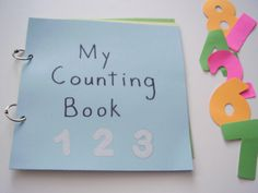 An early learning counting resource - with large numbers and colorful pictures. (preschool or kindergarten)