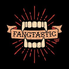 """Vampire Fangs Fangtastic by Casper Spell ●●●●● Have questions? Please contact our support team by clicking """"Help & Returns"""" below or email us at shop. Gothic Vampire, Vampire Art, Paranormal Stories True, Vampire Tattoo, Vampire Pictures, Vampire Masquerade, Halloween Quilts, Halloween Art, Vampire Fangs"""