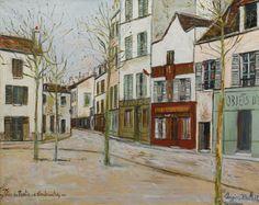 "abstracta. on Twitter: ""Montmartre por Vincent V. Gogh (1886) Camille Pissarro…"
