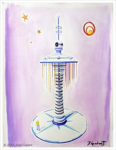 ARTWORK DETAILS   Title: Geometric abstraction 02   Date:  2014   Medium: Watercolor on paper   Dimensions: 76 x 56 cm   http://jgalant.com/paper