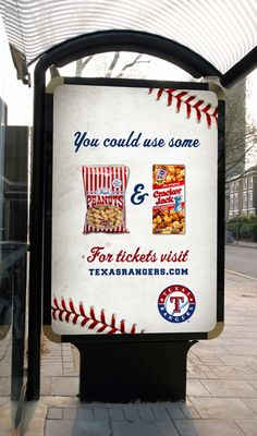 Idea for gift bags. Peanuts and cracker jacks Sport Football, Baseball, Cracker Jacks, Advertising, Ads, Texas Rangers, Peanuts, Gift Bags, Super Bowl
